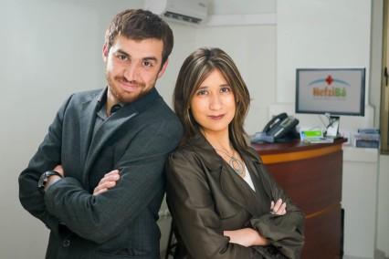 Emanuel Herrera y Carolina Briones, Fundadores de Clínica y Centro Médico Hefzi-Bá.